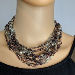 Jewelry - Unique adjustable choker necklace!